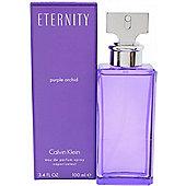 Calvin Klein Eternity Purple Orchid Eau de Parfum (EDP) 100ml Spray For Women