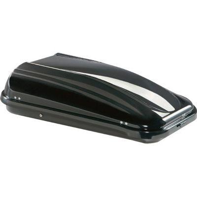 320 Litre Metallic Black Roof Box 132 x 78 x 36cms