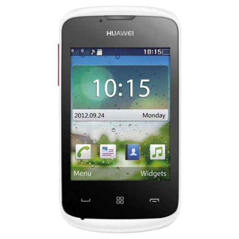 Tesco Mobile Huawei G7220 Pink & White