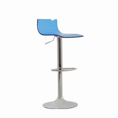 Crystal Blue Breakfast Bar Stool