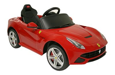 kids electric car ferrari f12berlinetta 12 volt red gloss