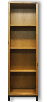 Ultimum Industrial Style Oak Large Bookcase
