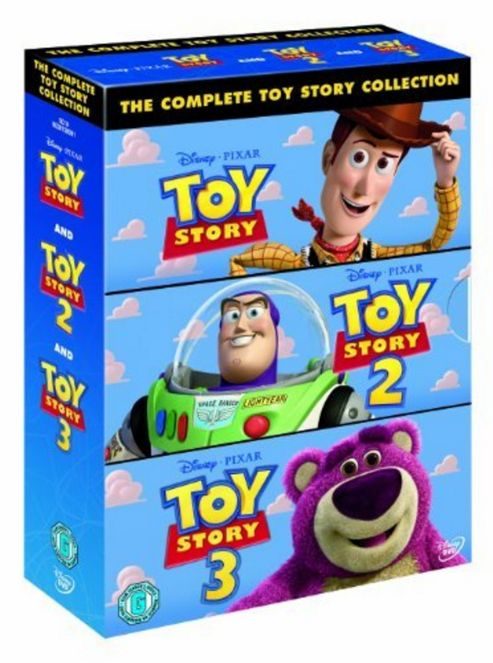 Toy Story 3, 2 & 1 Triple Pack