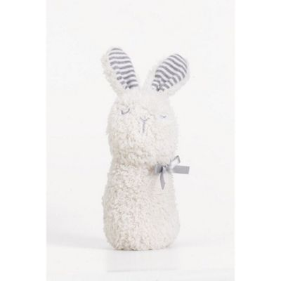 Silver Cloud Made With Love Chime Rattle (Bunny)