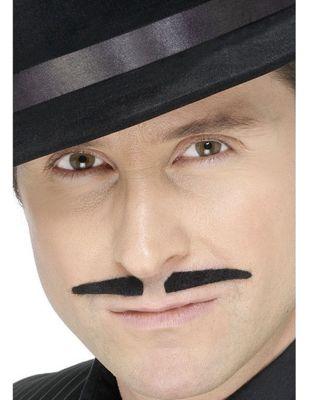 Smiffy's - Spiv Moustache - Black