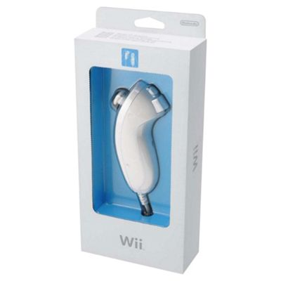 Nintendo Wii Nunchuk Controller - White