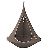 Cacoon Single Hanging Chair - Taupe