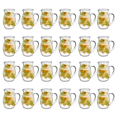 Estilo Glass Water / Cocktail / Pitcher Jug - 1000ml (35oz) - Pack of 24