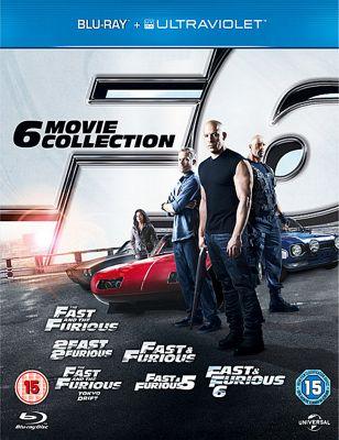 Fast & Furious 1-6 Blu-Ray