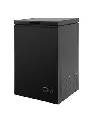 Lowry LCF99B, 99 Litre Chest Freezer - Black