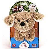 Zookiez 20cm Junior -Soft Toy Brown Dog