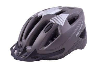 Pedal Nation MTB Road Bike Helmet Titanium 55-59cm