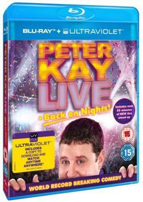 Peter Kay - Live & Back On Nights (DVD)