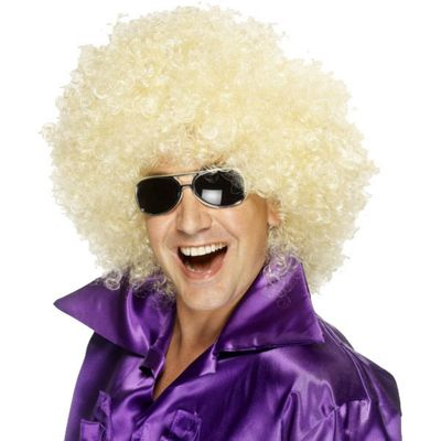 Smiffy's - Mega Huge Afro Wig - Blonde