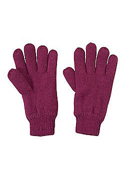 Mountain Warehouse KIDS KNITTED THINSULATE GLOVE - Red