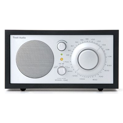 Tivoli Model One Radio Black Ash/Silver