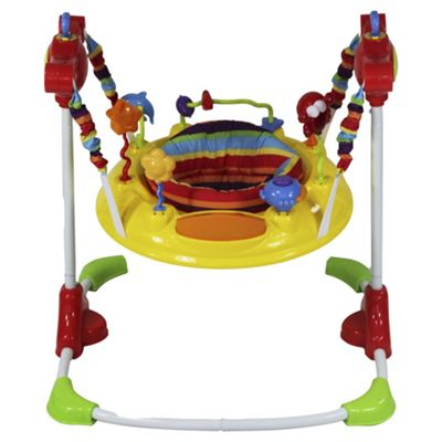 buy red kite baby go round jump around jungle jumper from our baby