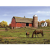 Reeves Painting by Numbers Artist Collection Horse and Barn Large - Art Store