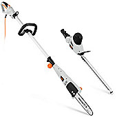 VonHaus 750W Pole Trimmer and Chainsaw