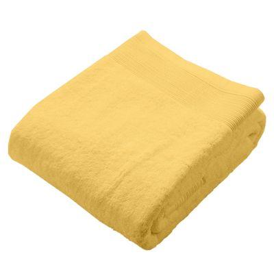 Homescapes Ochre Supreme Luxury Bath Sheet 700 GSM Egyptian Cotton, 95 x 150 cm