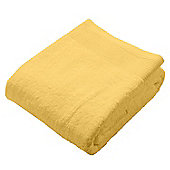 Homescapes Ochre Supreme Luxury Bath Sheet 700 GSM Egyptian Cotton, 95 x 150 cm