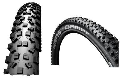 Schwalbe Hans Dampf Evolution SnakeSkin TL-Ready PaceStar Compound Folding Tyre in Black 26 x 2.35
