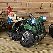 Christow LED Gnome Water Feature - Nigel