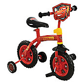 "Disney Cars 3 2 in 1 10"" Kids Training Bike"
