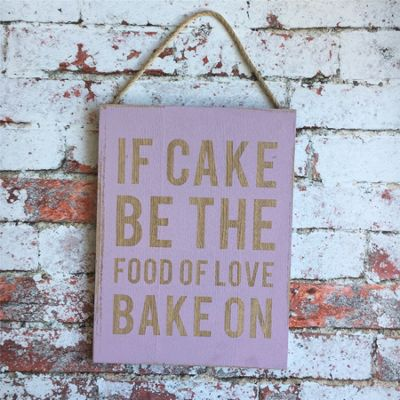 Bake On Sign