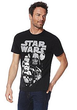 Star Wars Motif T-Shirt - Multi