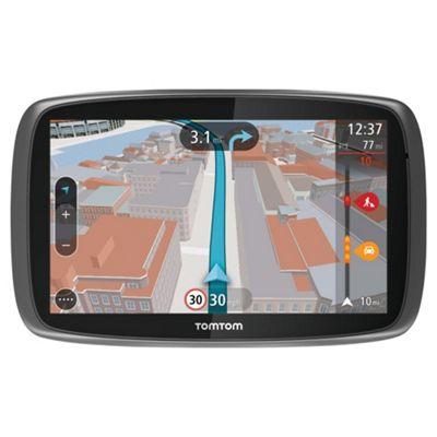 TomTom GO 600 6inch Sat Nav with Lifetime European Maps & Lifetime Traffic updates