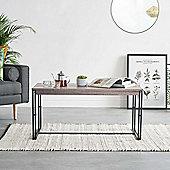 VonHaus Rustic Coffee Table – Modern Design – Lounge or Living Furniture