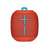 Ultimate Ears WONDERBOOM Bluetooth Speaker (Fireball Red)