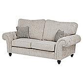 Empress Medium 2.5 Seater Sofa, Taupe/Light Grey
