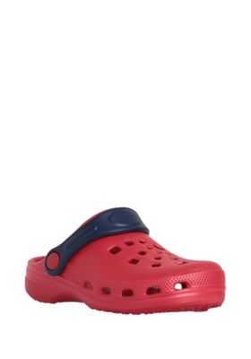 F&F Cut-Out Clogs Red Child 10-11