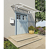 Palram Canopy Bordeaux 2230 White Clear