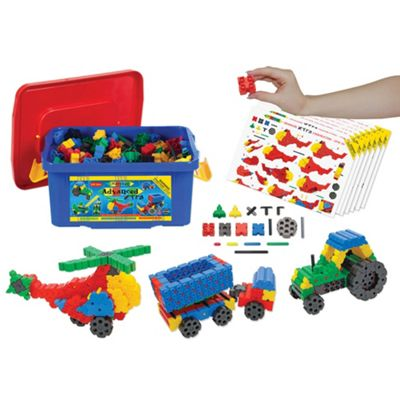Morphun Advanced Xtra Levers Set (500 Pieces) - Educational Construction System