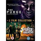 The Purge/The Purge Anarchy Boxset DVD