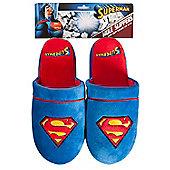 Superman Classic Mule Slippers Medium