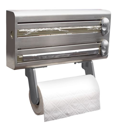 KitchenCraft Master Class Foil and Kitchen Towel Dispenser