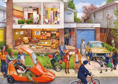 Memory Lane - Our House 1970s - 1000pc Puzzle
