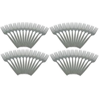 Argon Tableware Set Of 48 Stainless Steel Dinner Forks