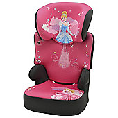 Disney Princess Befix High Back Booster Car Seat without harness, Group 2-3