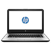 "HP 14"" 14-an009na E2 Quadcore 4GB 500GB White/Silver Laptop"