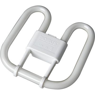 Bathroom Lights Tesco buy robus 16w 4 pin 2d fluorescent light bulb 135mm - warm white