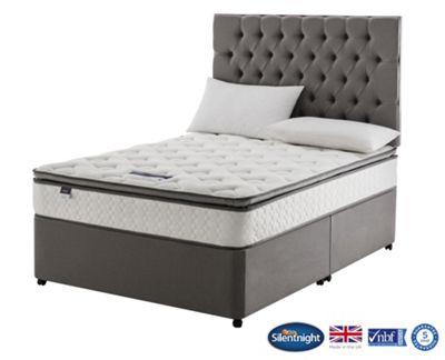 Miracoil Wensley Luxury Pillow Top Double Divan Non Storage