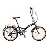 "2016 Viking Easy Street 20"" Wheel 6 Speed Folding Bike Black"