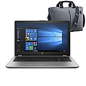 "HP 250 G6 15.6"" Laptop Intel Core i5-7200U 4GB 500GB Windows 10 Pro with Case - 1WY52EA#ABU"