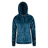 Mountain Warehouse Snaggle Womens Hooded Fleece ( Size: 18 )