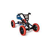 Kids pedal go kart - BERG Buzzy Nitro orange and blue go kart for kids